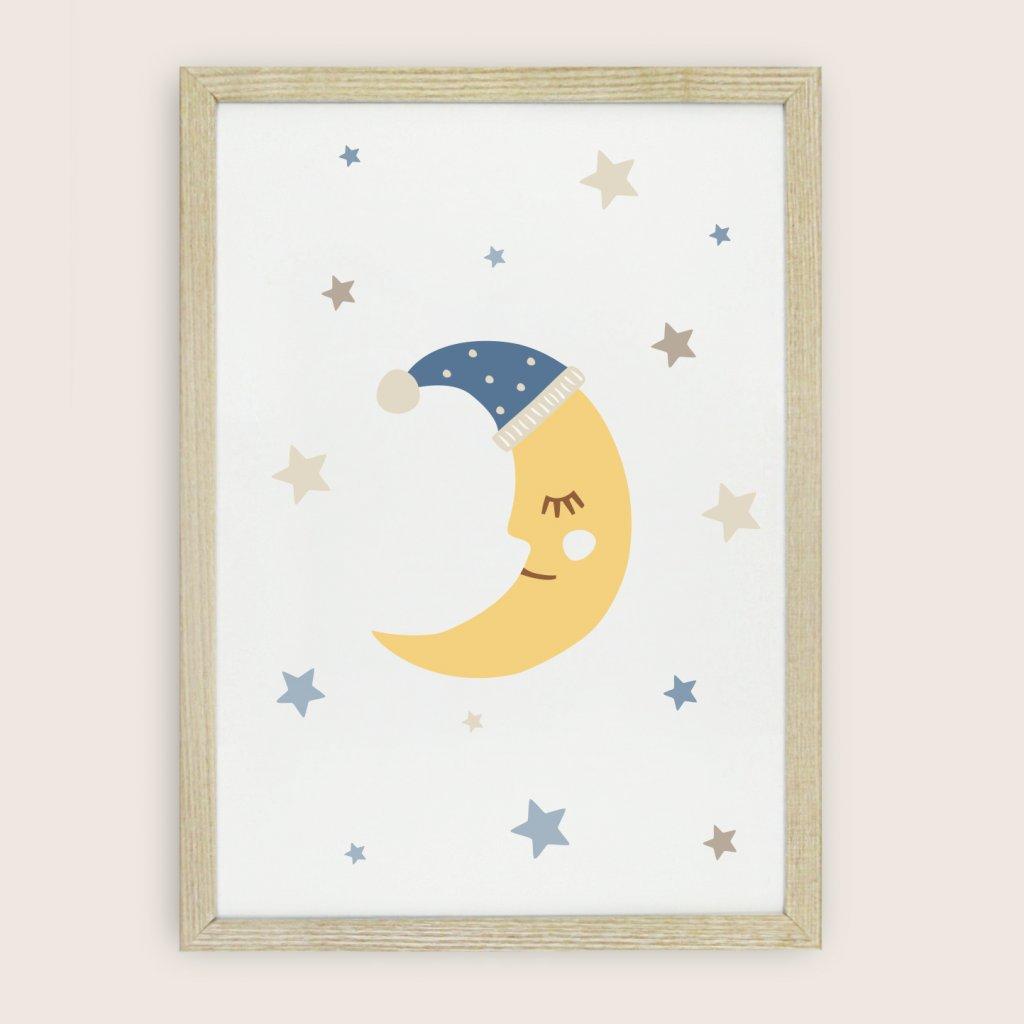 detsky obraz mesicek