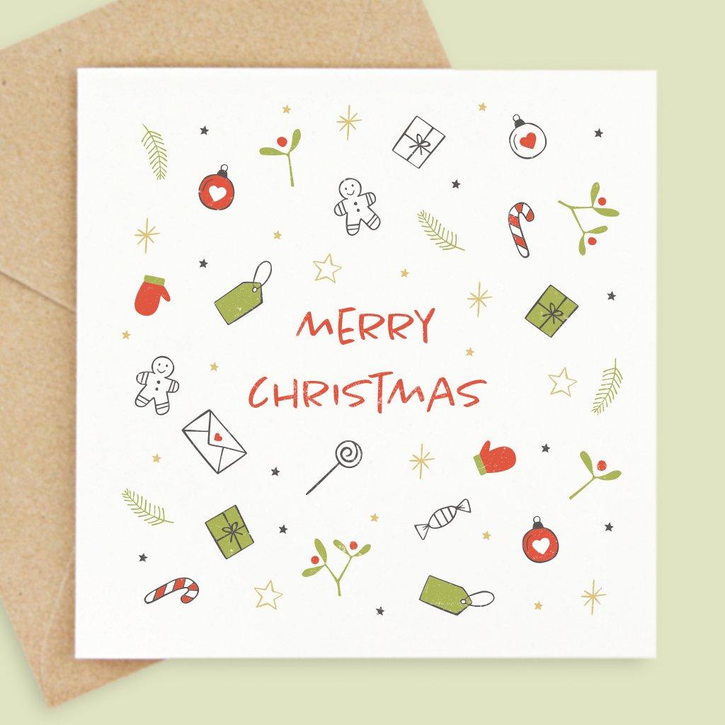 přání merry christmas