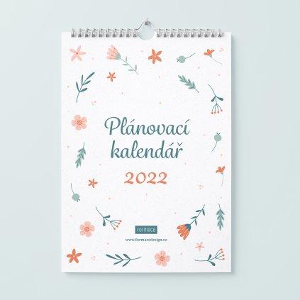 plánovací kalendář 2022