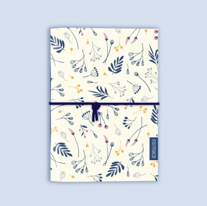 zápisník flóra