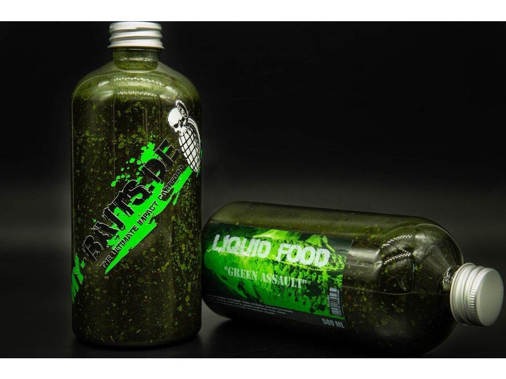 "My-Baits Liquid Food ""Green Assault"" 500 ml"