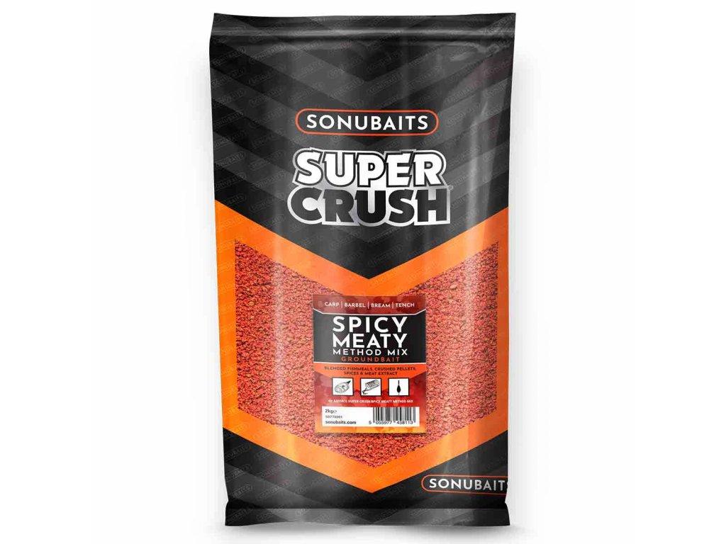 Sonubaits spicy meaty method mix2