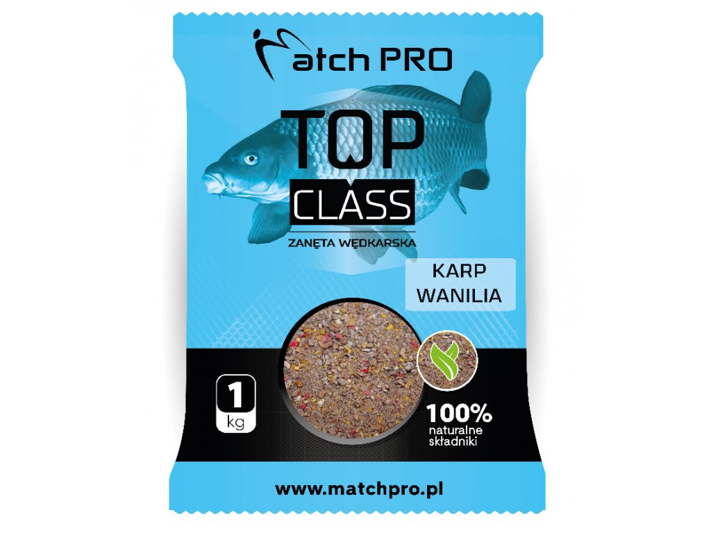 TOP CLASS KARP WANILIA Zanęta MatchPro 1kg