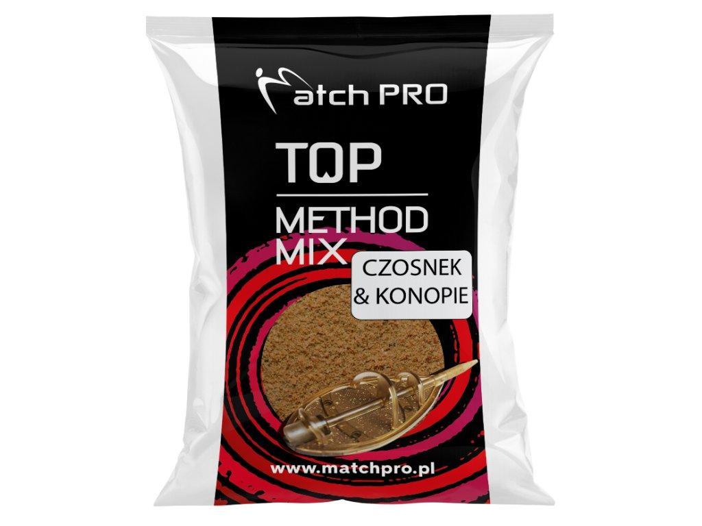 METHODMIX CZOSNEK & KONOPIE Zanęta Matchpro 700g