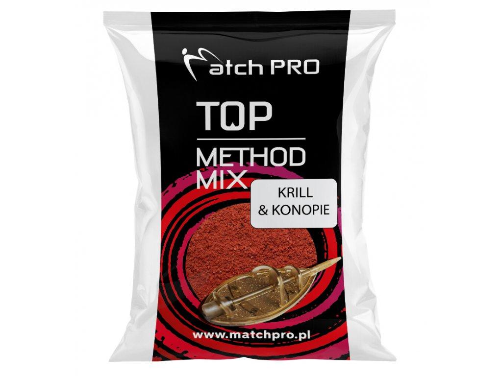 METHODMIX KRILL & KONOPIE Zanęta Matchpro 700g