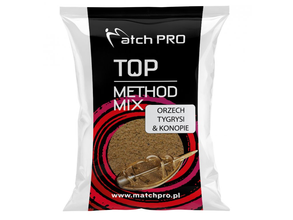 METHODMIX ORZECH TYGRYSI & KON Zanęta MatchPr 700g