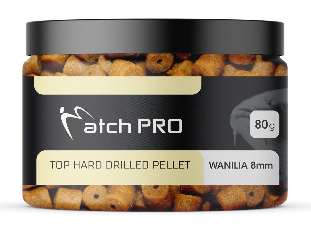 TOP HARD Wanilia 8mm DRILLED Pellet MatchPro 80g