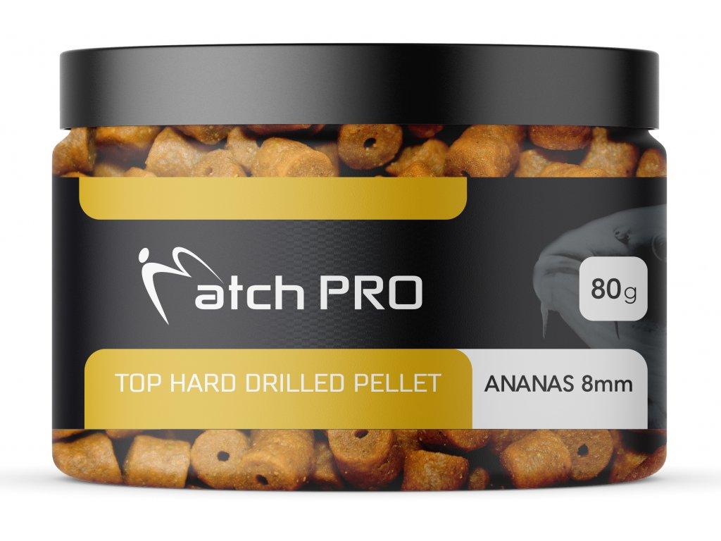 TOP HARD Ananas 8mm DRILLED Pellet MatchPro 80g