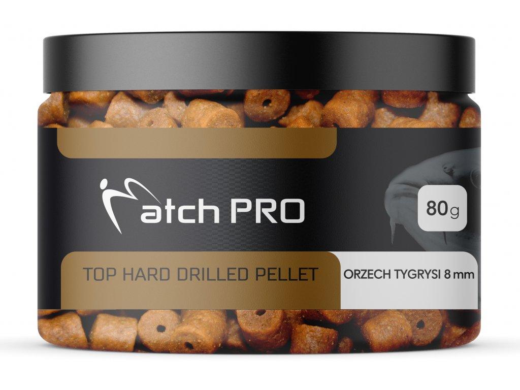 TOP HARD ORZECH TYGRYSI 8mm DRILLED Pellet MatchPro 80g