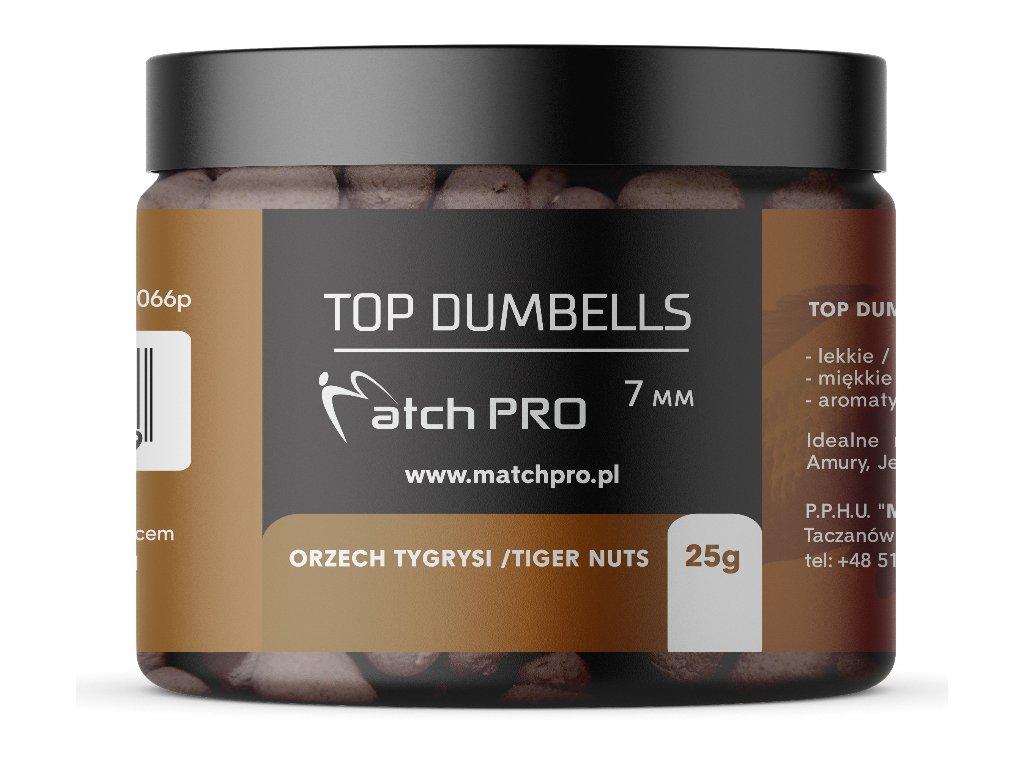 TOP DUMBELLS TIGER NUTS 7mm 25g MatchPro