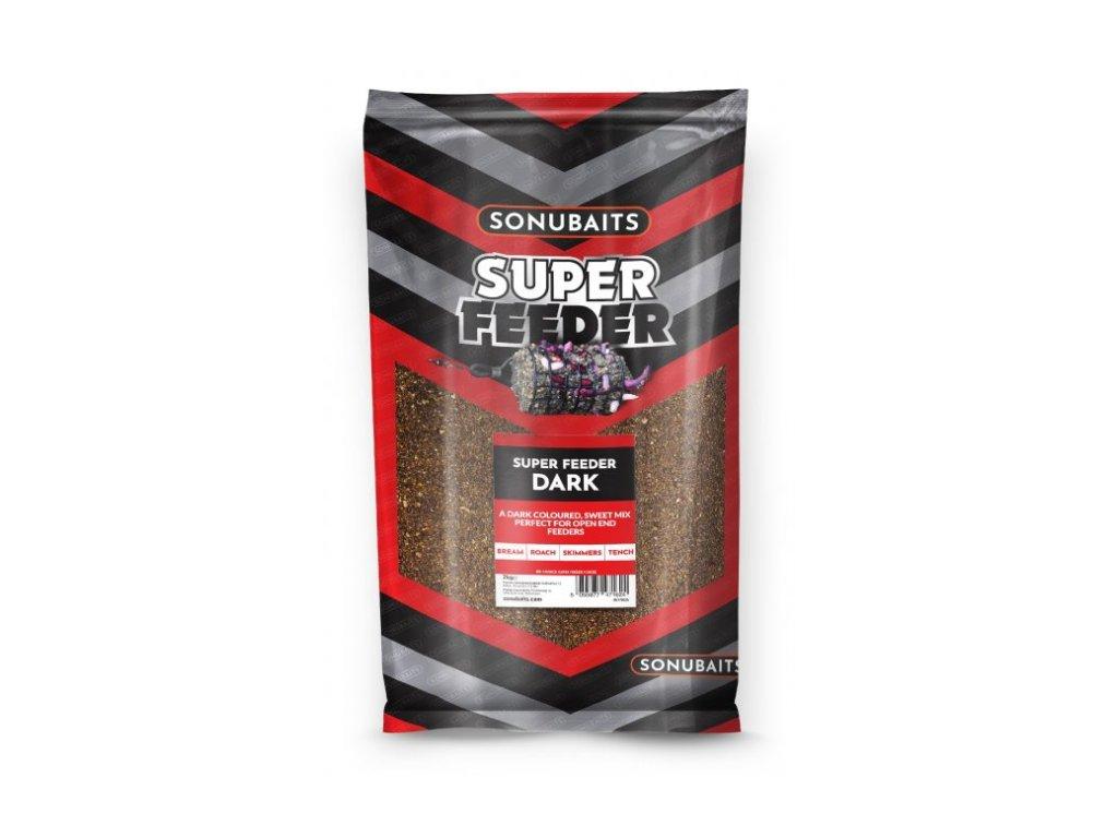 Sonubaits krmeni Super Feeder Dark 2 kg