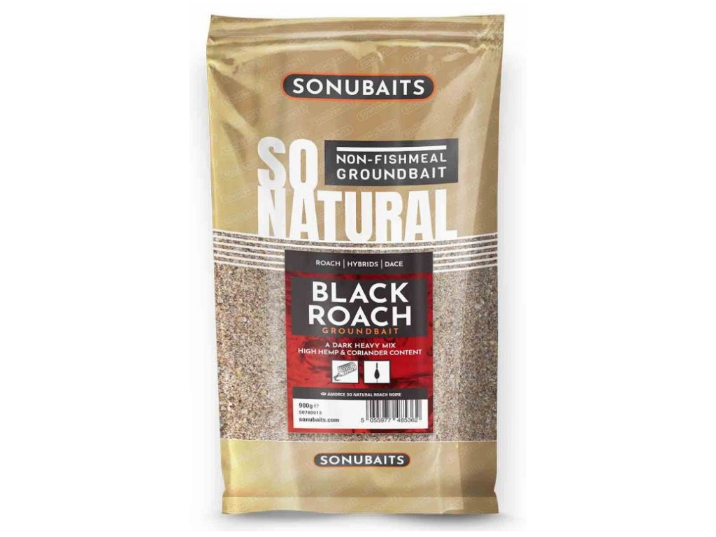 Sonubaits krmeni So Natural Black Roach 1 kg