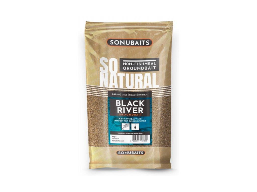 Sonubaits krmeni So Natural Black River 1 kg