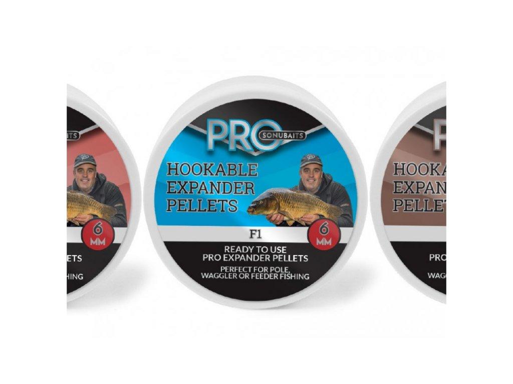 Sonubaits peletky Pro hookable expander pellets 8 mm 100g