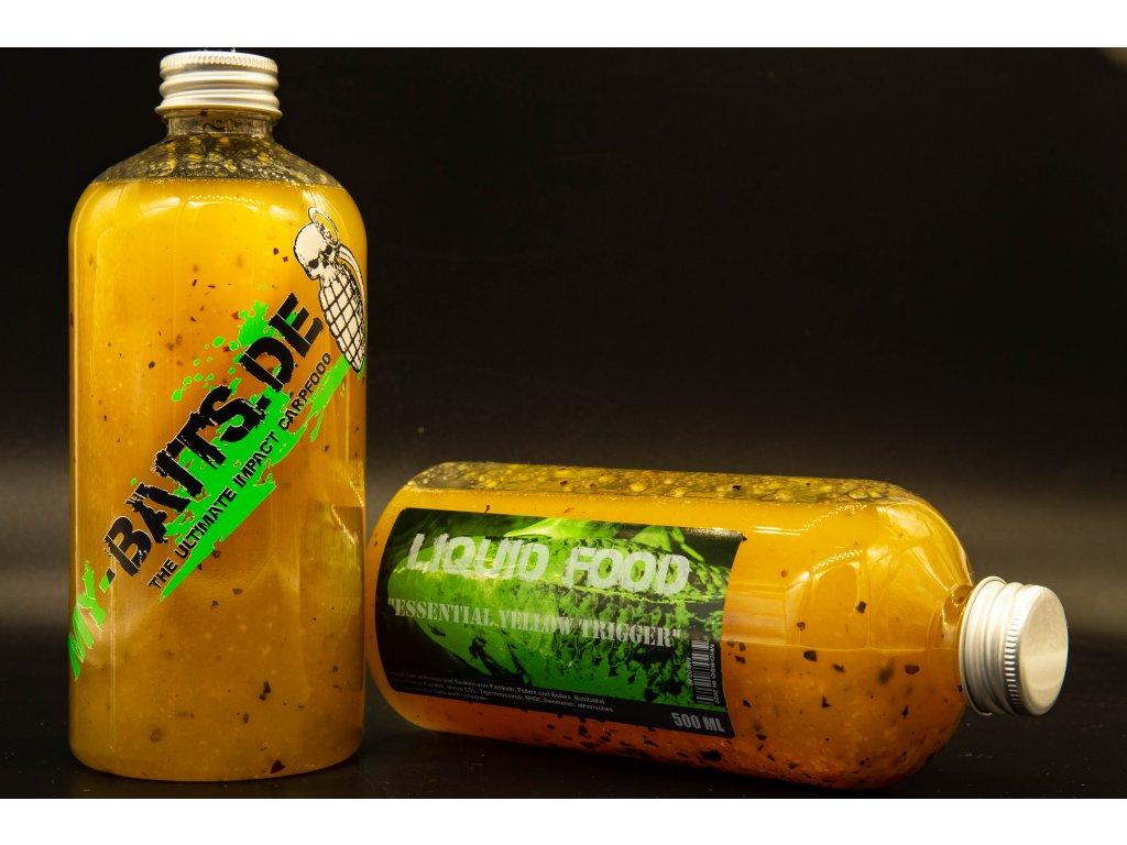 "My-Baits Liquid Food ""Essential Yellow Trigger "" 500 ml"