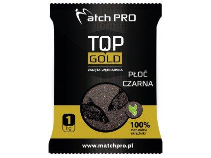 TOP GOLD PŁOĆ CZARNA Zanęta MatchPro 1kg