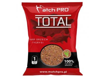 TOTAL KARP ORZECH TYGRYSI Zanęta MatchPro 1kg