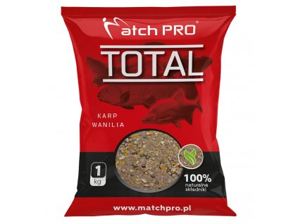 TOTAL KARP WANILIA Zanęta MatchPro 1kg