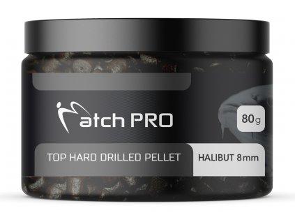 TOP HARD HALIBUT 8mm DRILLED Pellet MatchPro 80g
