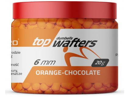 TOP DUMBELLS WAFTERS ORANGE CHOCOLATE 6x8mm 20g MatchhPro