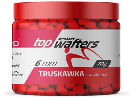 TOP DUMBELLS WAFTERS STRAWBERRY 6x8mm 20g MatchPro