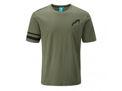 spotted fin mens tshirt khaki front