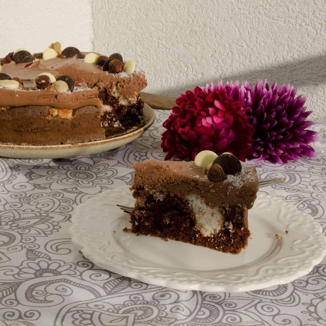 Nedeľné inšpirácie na každý deň - Čokoládovo - kokosová torta