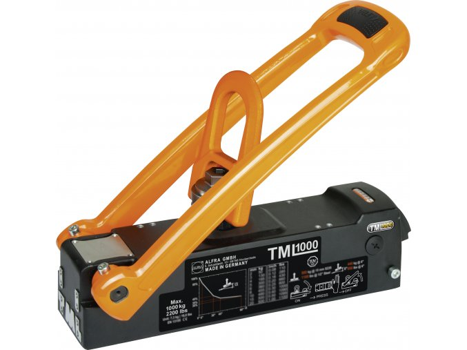 Břemenový magnet ALFRA TML1000 (max. nosnost 1000 kg)