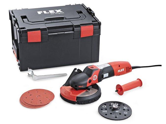 SE 14-2 150 Set Speciální bruska SUPRAFLEX na lakované povrchy, dřevo, kámen a kov  + Sleva 10% na produkty FLEX + 3 roky záruka + 4 brusné kotouče v ceně
