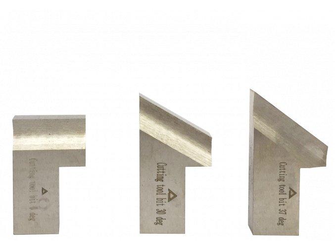 Set nožu standard- 0°;30°;37° na uhlíkovou ocel