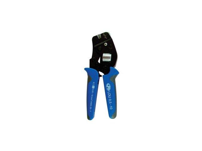 Kleště na dutinky lisovací GPH LDU 0,5-10,čtyřhran, průřez 0,5-10mm2
