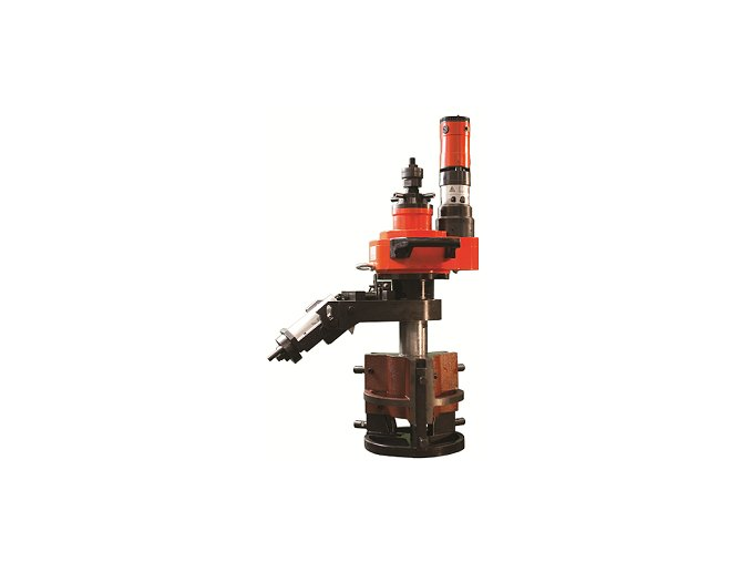 Ukosovací systém TCM-351-II pro úkosování trubek s vnitřním upnutím (Ø 150-330mm), autoposuv