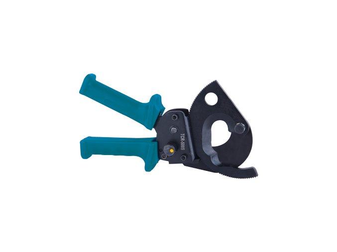 Ruční ráčnové nůžky pro střihání kabelů TCR_500S