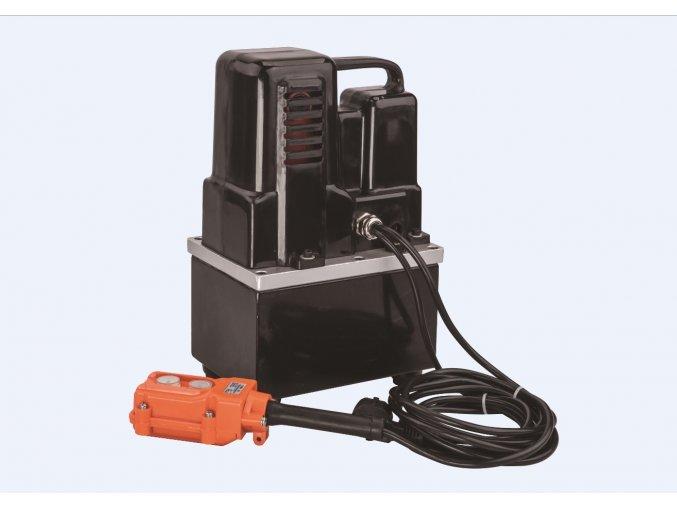 Elektrohydraulická pumpa TEP-700B_H  včetně ručního ovládání