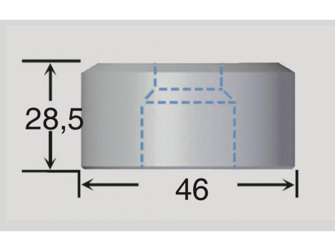 Kruhové matrice PEDINGHAUS, DURMA typ 2 Ø 4-30 mm