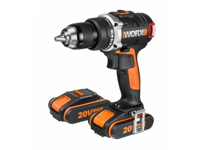 WX175 Aku vrtačka 20V, 2x 2,0 Ah (WORX POWER-SHARE)