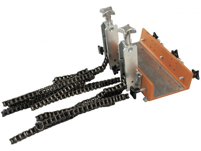 Zařízení pro upínání na roury, se dvěma řetězy,pro roury 80-900mm průměru