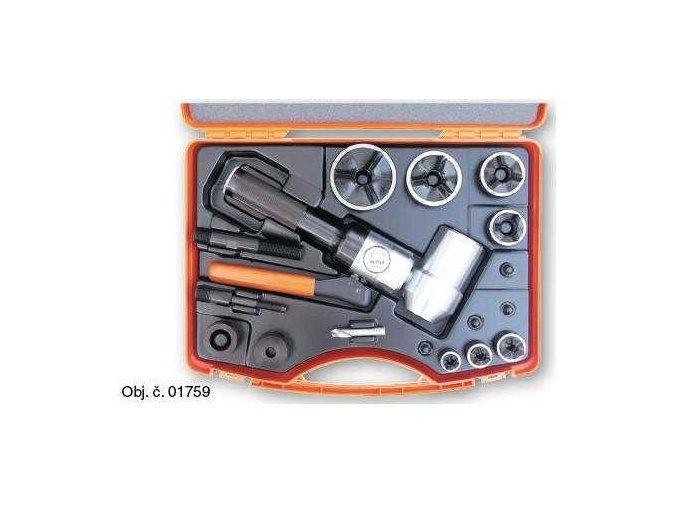 Ruční hydraulická pumpa příčná s metrickou sadou Tristar M16 - M63