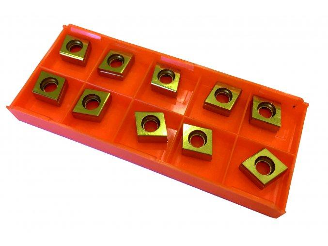 Povlakované destičky čtyřbřité (bal=10ks)