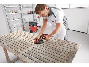 speciální bruska na lakované povrchy, dřevo, kámen a kov set (SE 14-2 150 SUPRAFLEX)
