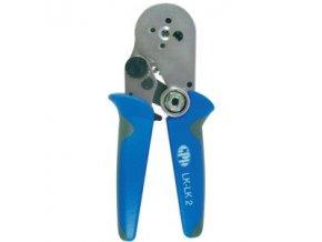 Kleště lisovací GPH LK-LK2 s držákem na speciální kontakty; průřez 0,08-2,5mm2