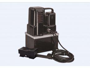 Elektrohydraulická pumpa TEP-700B_F včetně nožního ovládání