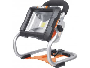 WX026.9 Aku pracovní LED světlo (WORX POWER-SHARE)  Výhody: vysoká svítivost pro ideální viditelnost, dlouhá životnost, snadná přepravitelnost, flexibilní a univerzální použití - možnost zavěšení
