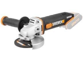 WORX WX800.9 Aku úhlová bruska 115 mm  + Brusný kotouč v ceně + 3 roky záruka