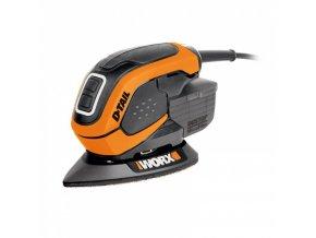 WORX WX648 Vibrační rohová multi bruska, 65W  + 30 ks příslušenství ZDARMA