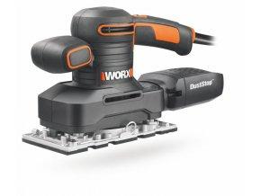 WORX WX641 Vibrační bruska 250W  + 6 brusných papírů ZDARMA + 3 roky záruka