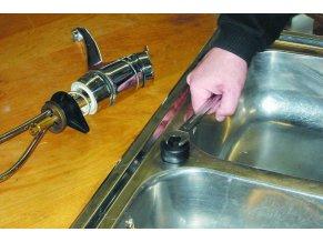 Ø 37,0 mm děrovací nástroj kpl. Sanita