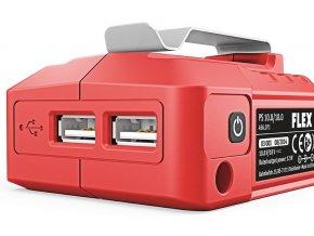 USB adaptér pro baterie - powerbanka (FLEX PS 10.8/18.0)