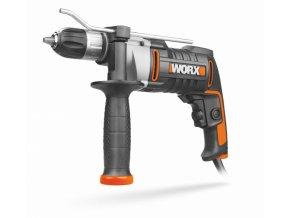 WX318 El. vrtačka s příklepem, 810W (WORX)
