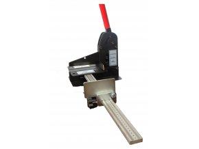 Zařízení pro stříhání kabelových žlabů